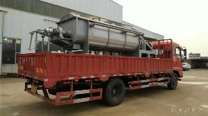污泥干化机空心主轴的改造